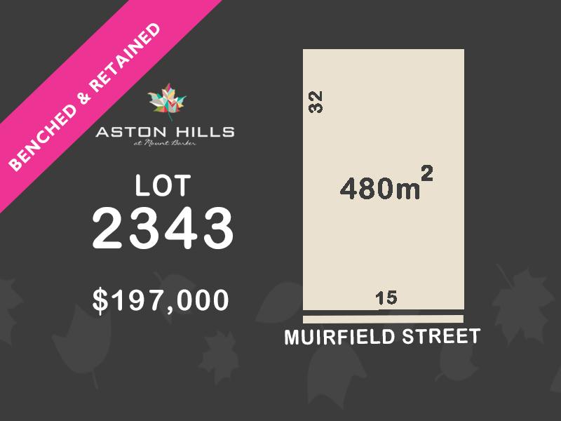 Lot 2343, Muirfield, Mount Barker, SA 5251