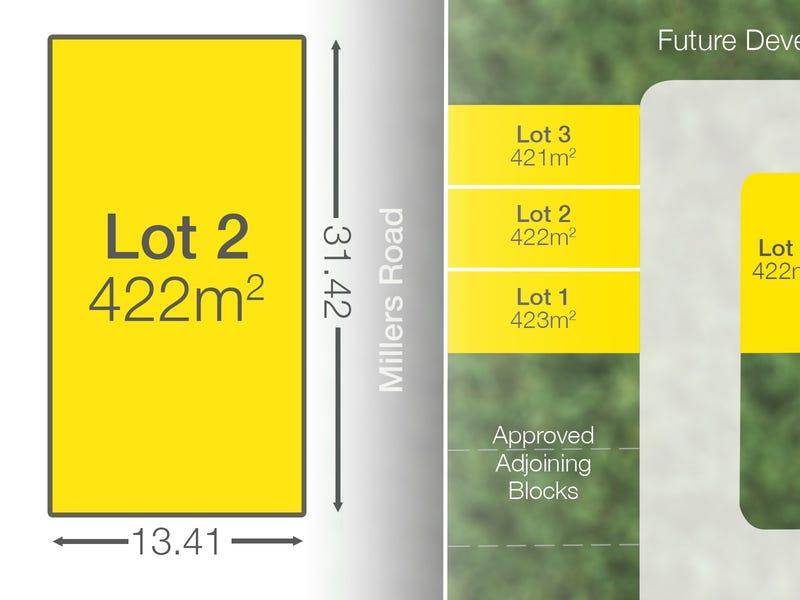 Proposed Lot 2 210-216 Millers Road, Underwood