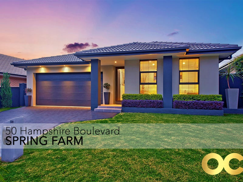 50 Hampshire Boulevard, Spring Farm, NSW 2570
