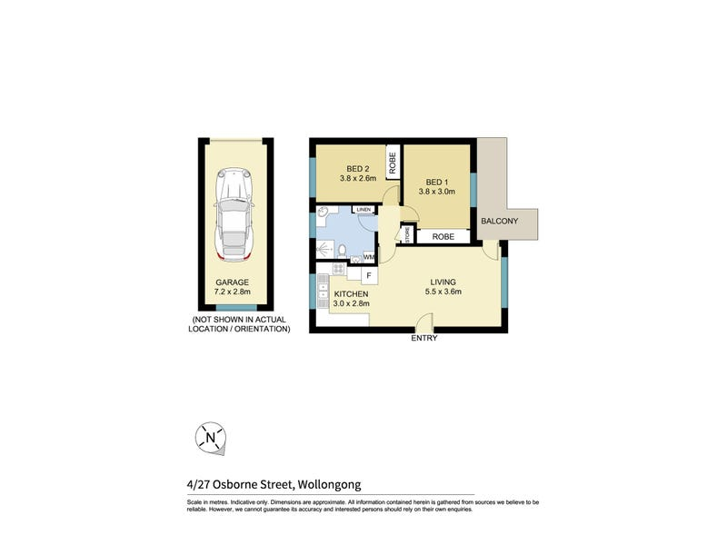 4/27 Osborne Street, Wollongong, NSW 2500 - floorplan