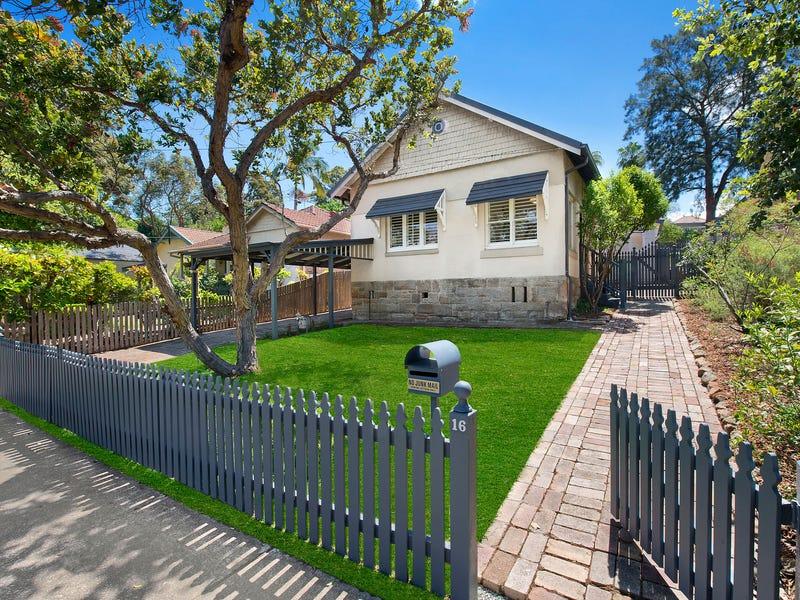 16 Prince Edward Street, Gladesville, NSW 2111