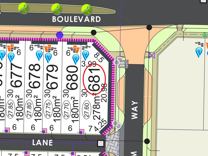 Lot 681, Fanshawe Blvd, Piara Waters, WA 6112