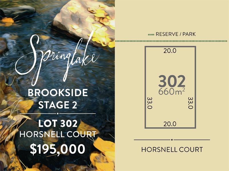 Lot 302 Horsnell Court, Mount Barker, SA 5251