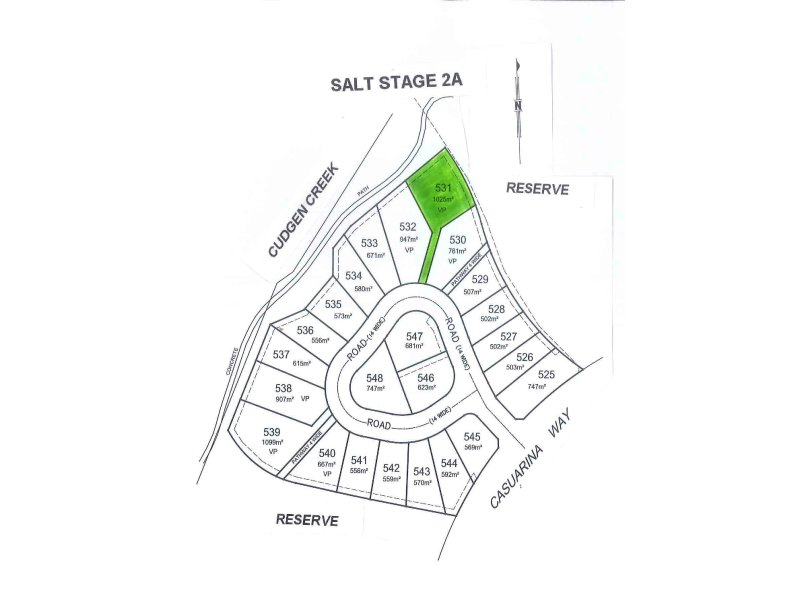 Lot 531 Salt Stage 2A, Bronte Place, Kingscliff, NSW 2487