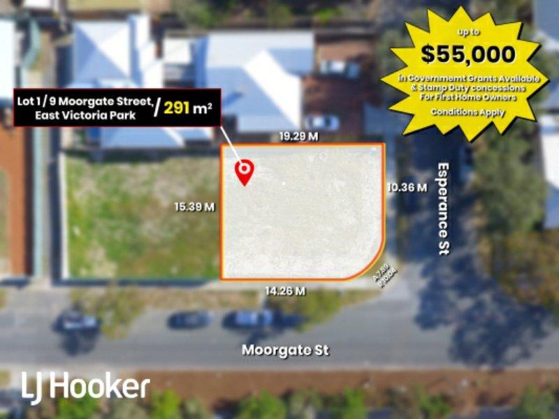 Lot 1, 9 Moorgate Street, East Victoria Park, WA 6101