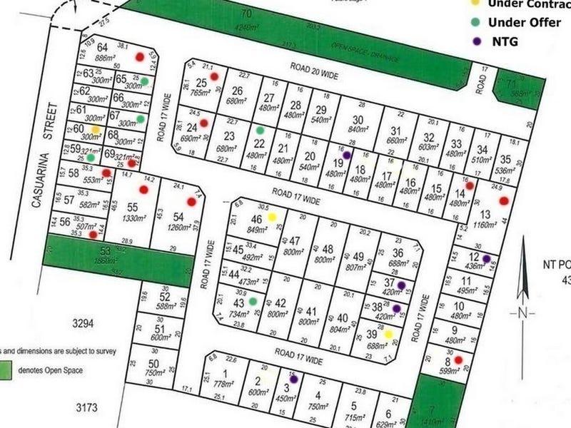 Lot 3396 (Block 8) Casuarina Park, Katherine, NT 0850