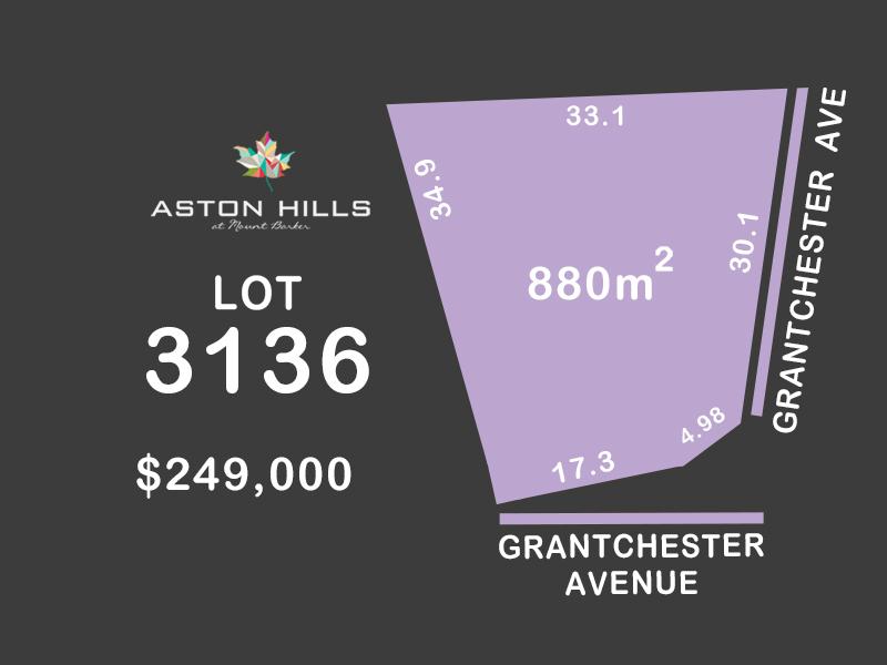 Lot 3136, Grantchester Avenue, Mount Barker, SA 5251