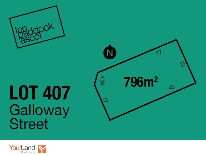 Lot 407, Galloway Street, Ascot, Vic 3551