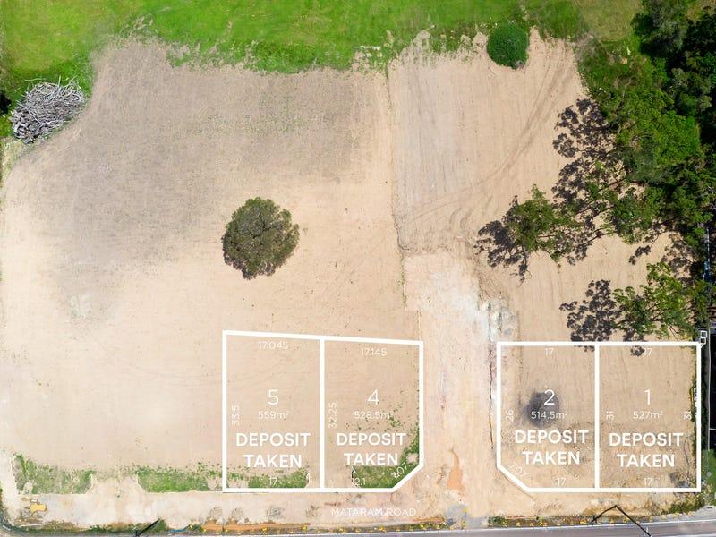 Proposed Lots 1, 2, 4 & 5 145 Mataram Road, Woongarrah, NSW 2259