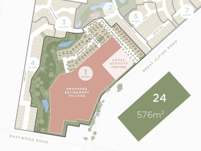 Lot 24, 13 Great Alpine Road, Lucknow, Vic 3875