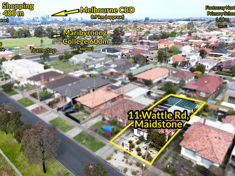 11 Wattle Road, Maidstone, Vic 3012