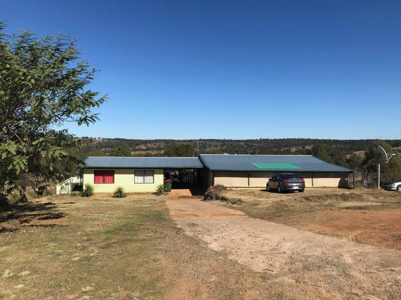 636 OLD ESK NORTH ROAD, South East Nanango, Qld 4615