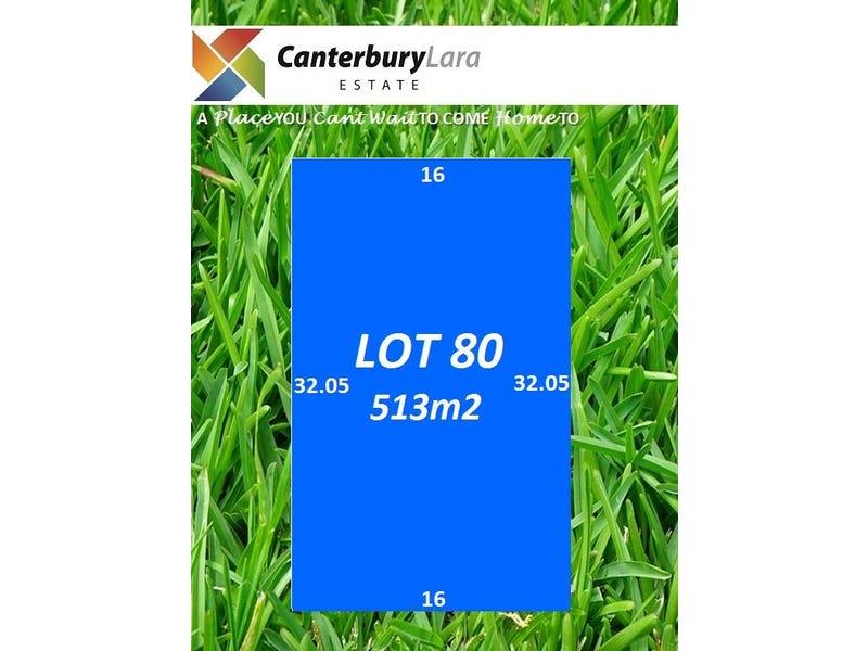 Lot 80 Canterbury Lara Estate, Lara, Vic 3212