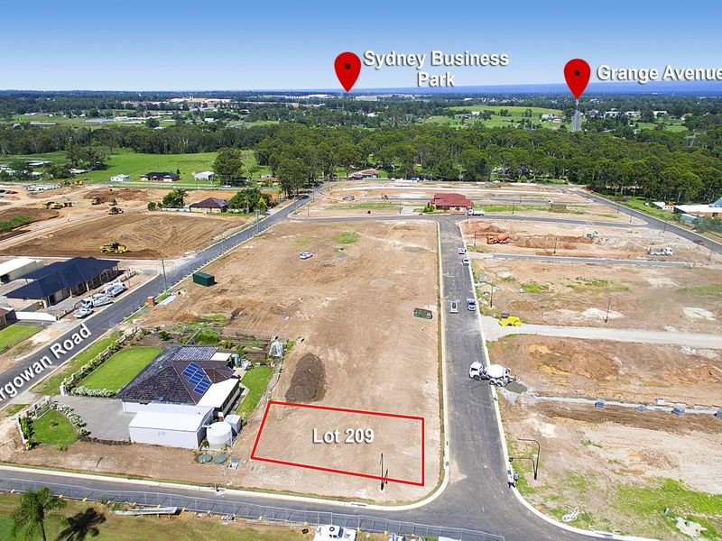 Lot 209 Oaklands Estate, Schofields, NSW 2762