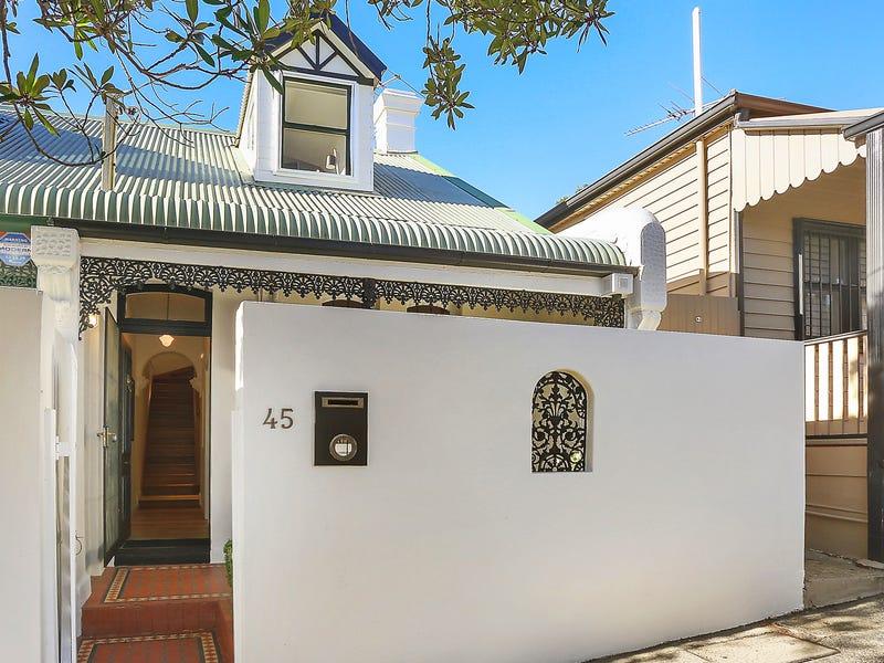 45 Cambridge Street, Rozelle, NSW 2039