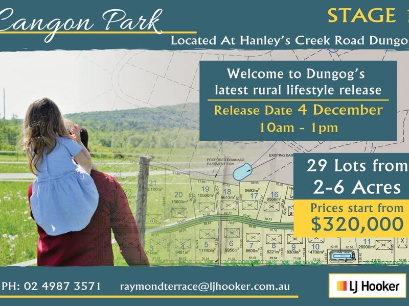 Lot 14 , Lot 16  Hanleys Creek Road, Dungog, NSW 2420