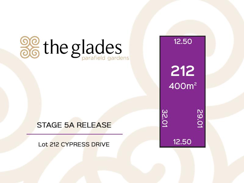 Lot 212 Cypress Drive, Parafield Gardens, SA 5107