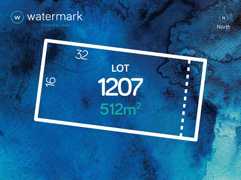 Lot 1207, Tyson Loop (Watermark), Armstrong Creek, Vic 3217
