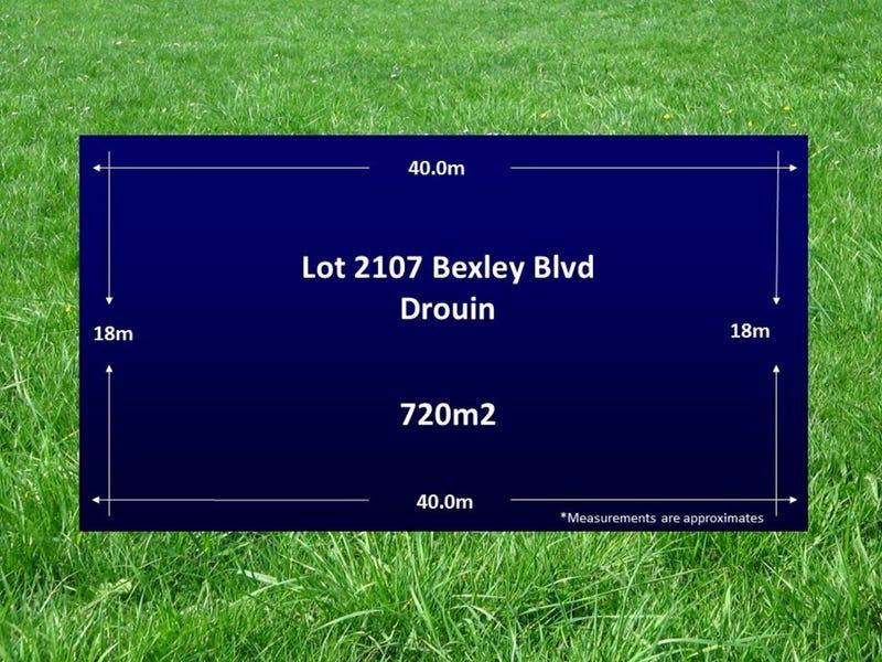 Lot 2107 Bexley Boulevard, Drouin, Vic 3818