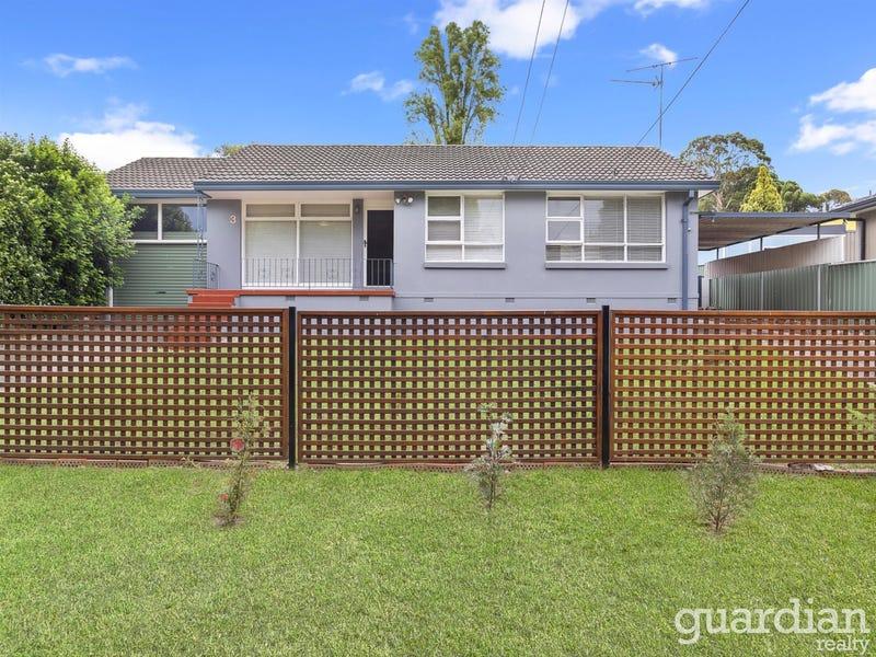 3 Jaffa Road, Dural, NSW 2158