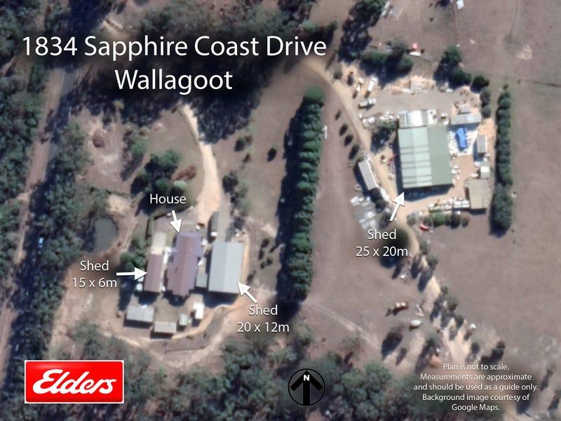 1834 SAPPHIRE COAST DRIVE, Wallagoot, NSW 2550