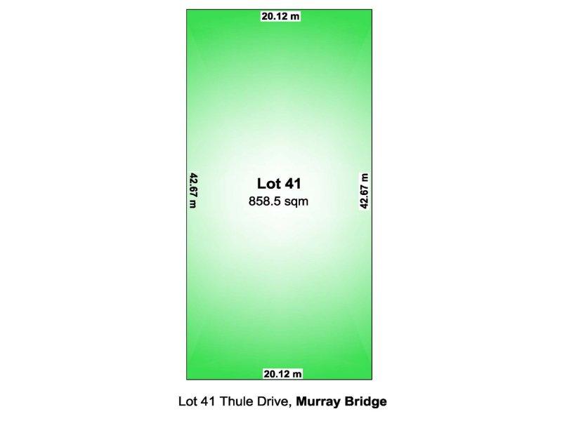 LOT 41 Thule Drive, Murray Bridge East, SA 5253