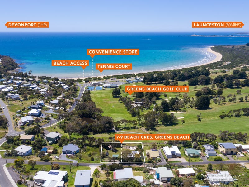 7-9 Beach Crescent, Greens Beach, Tas 7270
