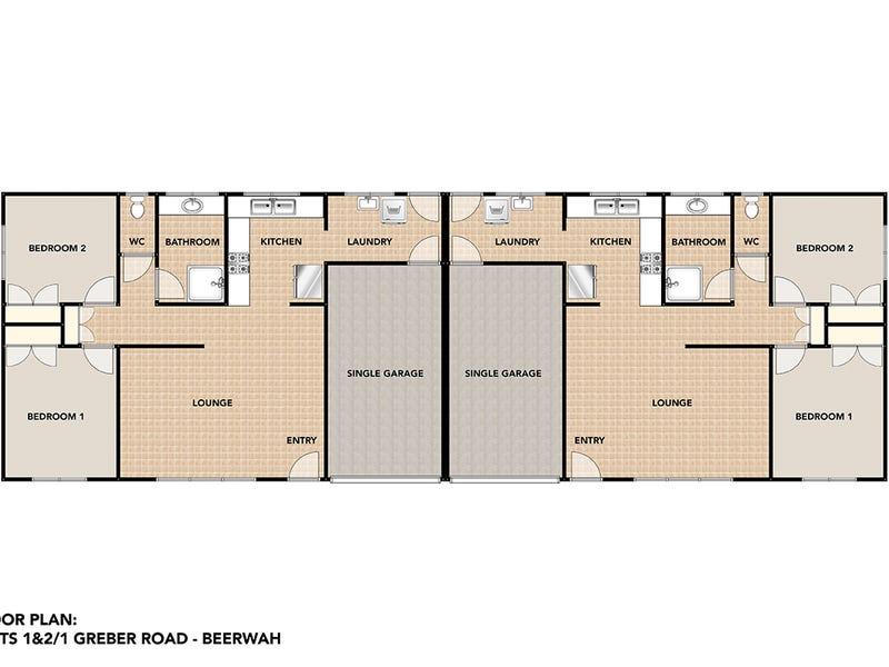 1&2/1 Greber Road, Beerwah, Qld 4519