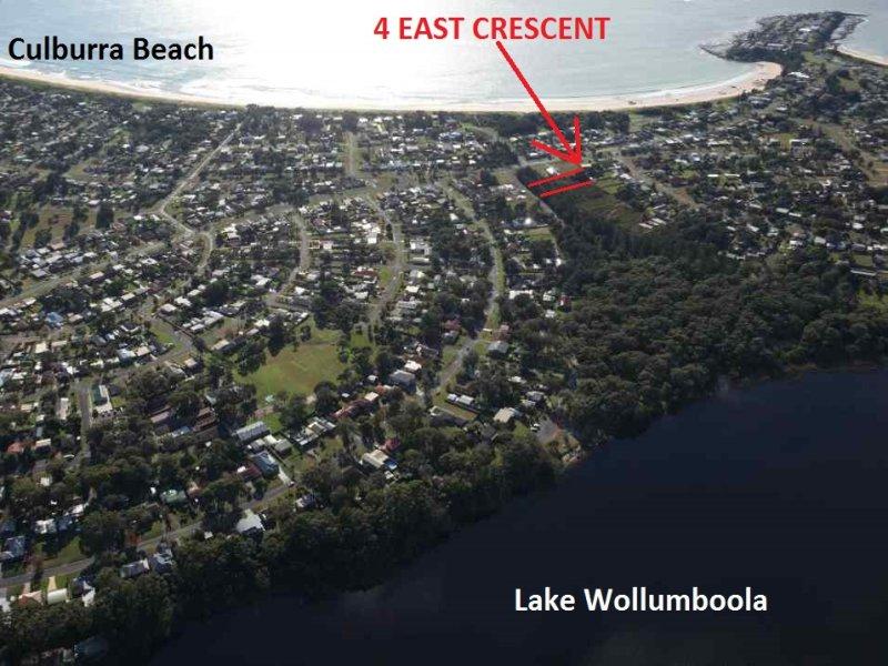 4 East Crescent, Culburra Beach, NSW 2540
