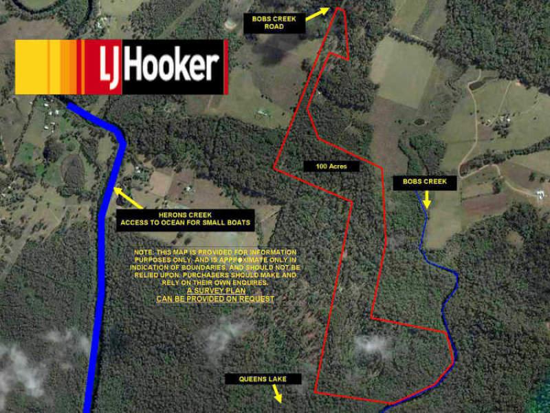 Part 2 of Lots 59 & 60,DP 754444 Bobs Creek Road, Herons Creek, NSW 2443