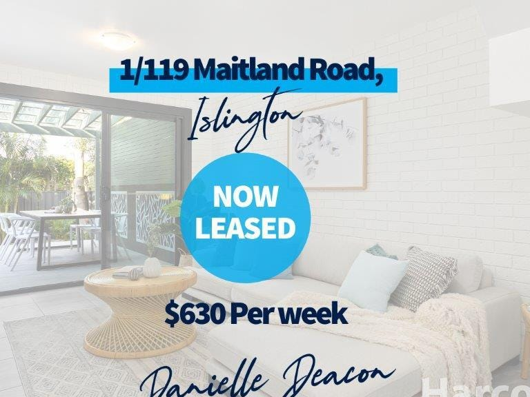 1/119 Maitland Road, Islington, NSW 2296