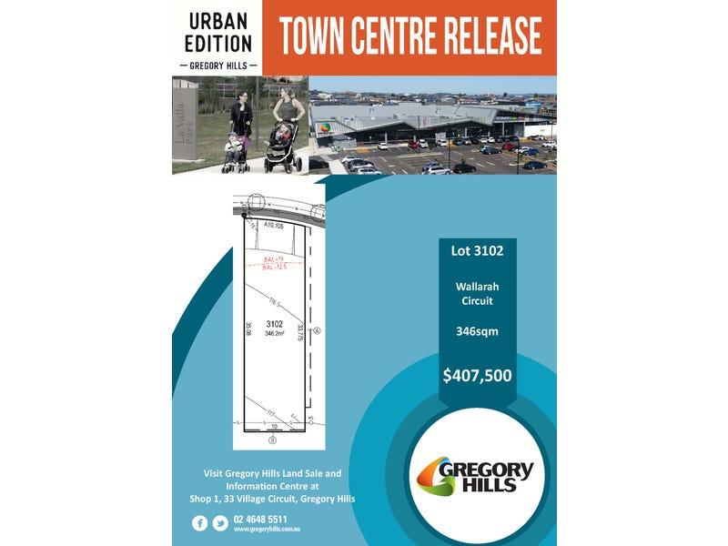 Lot 3102, Wallarah Circuit, Gregory Hills, NSW 2557