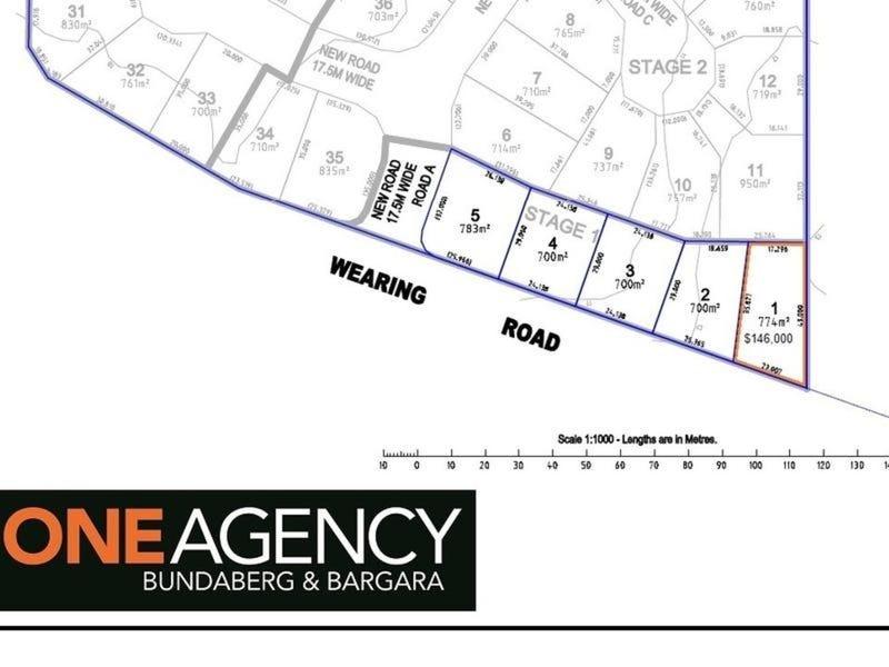 Lot 1, Wearing Road, Bargara, Qld 4670