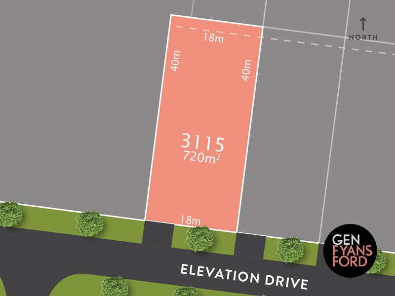 Lot 3115, Elevation Drive, Fyansford, Vic 3218