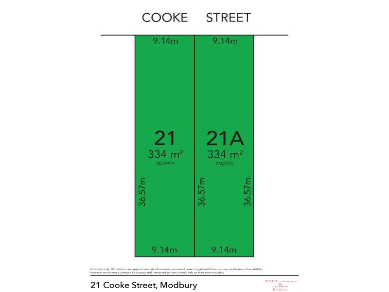 21 & 21A Cooke Street, Modbury, SA 5092