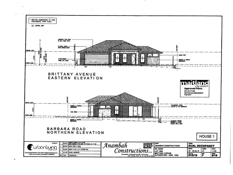Lot 1/1536, Brittany Avenue, Rutherford
