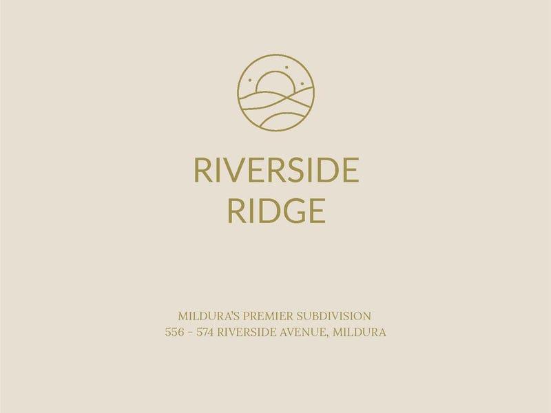 Lot 1-37/ Riverside Ridge Estate, Mildura, Vic 3500