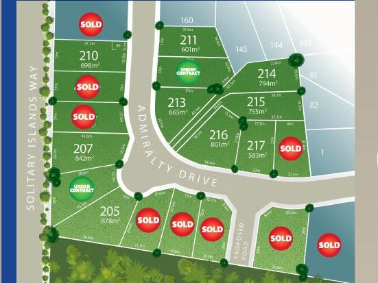 Lot 206 Admiralty Drive - Stage 11, Safety Beach, NSW 2456