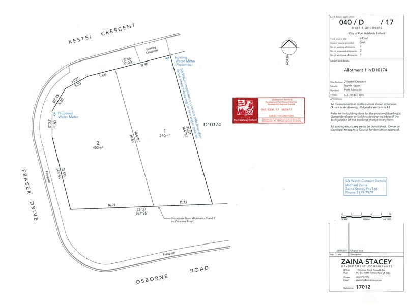 Lot 2 Kestel Crescent North Haven Sa 5018