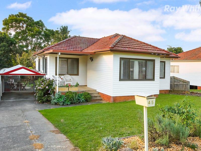 45 Sturdee Street, Wentworthville, NSW 2145