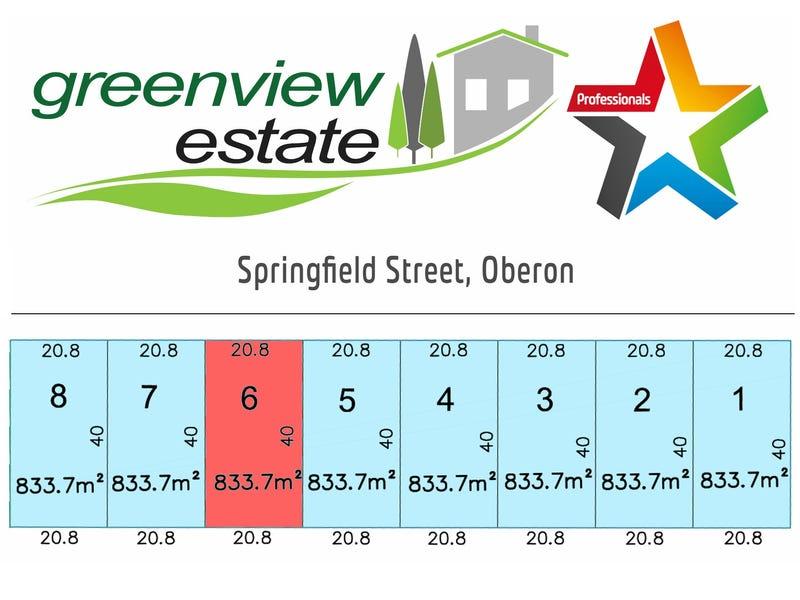 Lot 6, Springfield Street, Oberon, NSW 2787