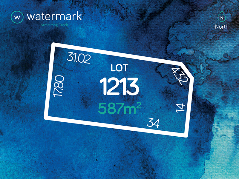 Lot 1213, Bramley Avenue (Watermark), Armstrong Creek, Vic 3217
