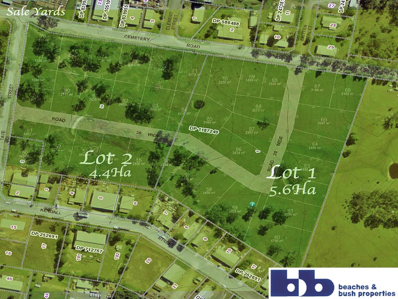 0 Lots 1&2 Cemetery Road Cor Tate Street, Gloucester, NSW 2422