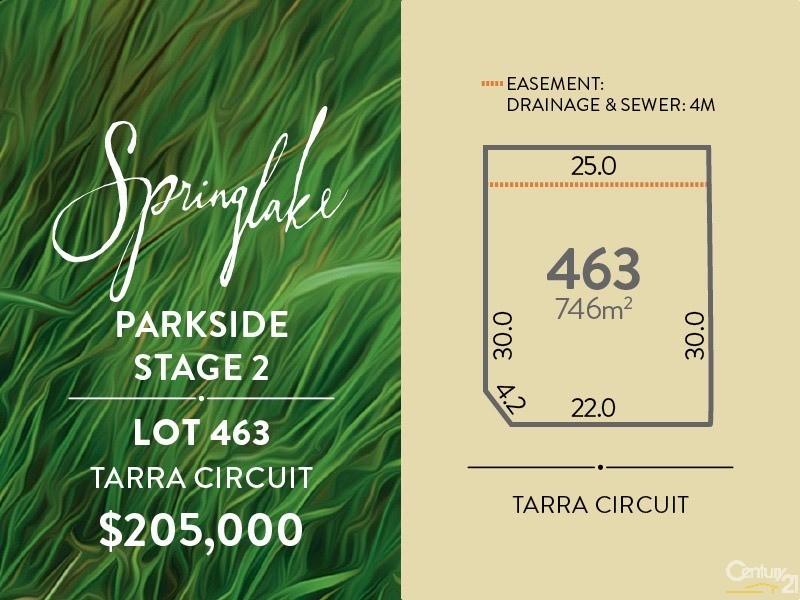 Lot 463 Tarra Circuit, Mount Barker, SA 5251