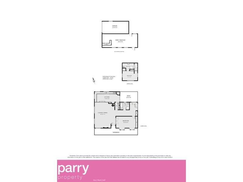 51 Meander Valley Road, Hagley, Tas 7292 - floorplan