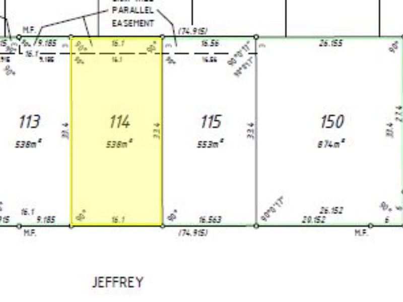 Lot 114 Jeffrey Road, Glen Iris, WA 6230