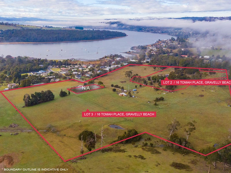 Lot 2 & 3/16 Tomah Place, Gravelly Beach, Tas 7276