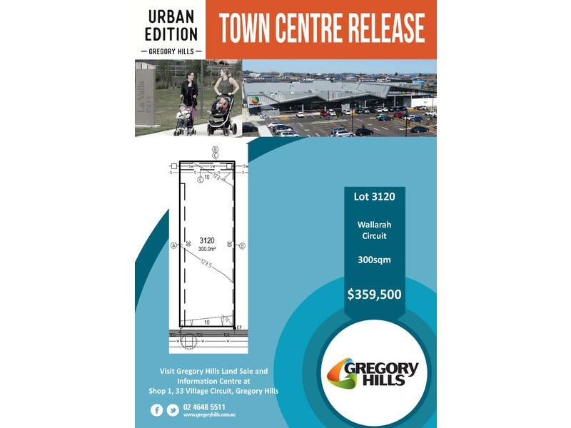 Lot 3120, Wallarah Street, Gregory Hills, NSW 2557