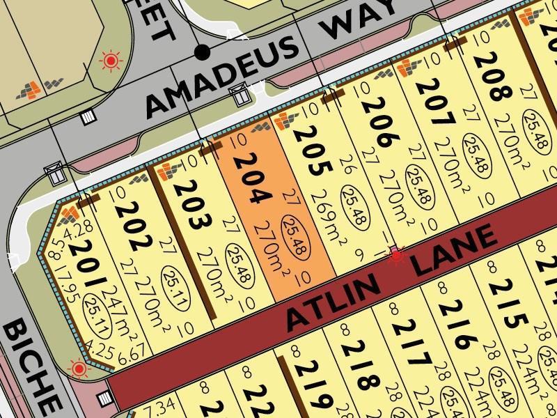Lot 204 Amadeus Way, Success, WA 6164