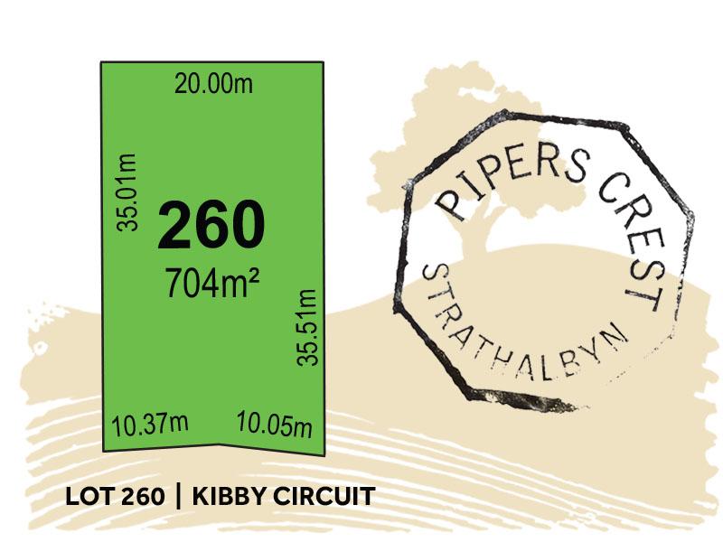 Lot 260, Kibby Circuit, Strathalbyn, SA 5255
